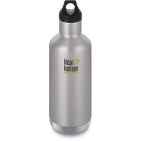 Klean Kanteen Classic Vacuum Insulated Flasche Loop Cap 946ml brushed stainless